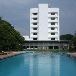 Swimming Pool Looking Towards Hotel