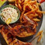 1/2 PERi-PERi Chicken with 2 Regular sides