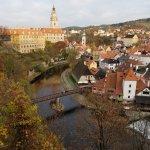 Cesky Krumlov, a beautiful town