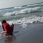 Abi by the beach