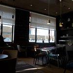 Brussels, Hotel Ibis Gare du Midi, dining area