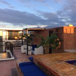 rooftop with lounge and jaccuzi