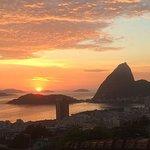 Rio at sunrise from The Maze Inn