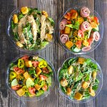 Fresh-chopped, made-to-order salads.