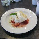 Coconut Cloud Cake was one of the Fallicious lunch desserts offered.