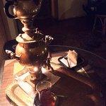 Georgian samovar tea with Baklava