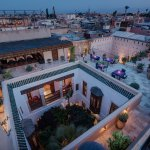 View from Riad Siwan over Marrakech
