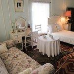 Bedroom in the Karen Blixen Museum.
