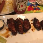BBQ Wings - delicious!