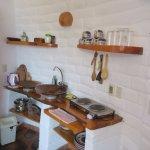 Kitchenette in Suite 4 - La Tortuga