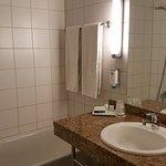 Badezimmer von Zimmer 318