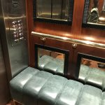 Sofa in the lift