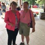 Me and Sen Patti Richie at the Watertown, NY Thompson Zoo