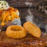 Stop on in and have one of cooked to order steaks and delicious sides!