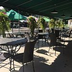 Enjoy a day on the golf course and relax on our dining patio while enjoying a cold drink and lun