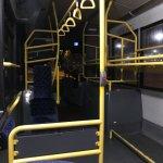 Inside of the Hoppa bus