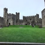 Caernarfon Castle is in the area