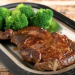 Hoss's famous Rib Eye-cooked to order