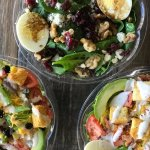 Fresh-chopped, made-to-order salads!