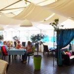 A nossa esplanada - our terrace