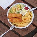 Menu: Fritter og fiskefile