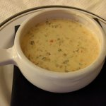 Room service: wild rice soup