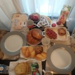 One of our delicious breakfasts at Palace B&B
