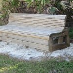 Comfy benches stratigically placed throughout the park