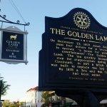The Golden Lamb Restaurant Landmark Plaque