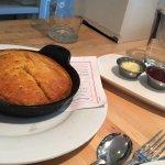 Skillet Cornbread to Die Far