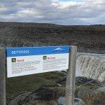 Dettifoss waterfall Foto