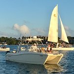 Rendezvous for 60 plus people - on shallow Florida Bay