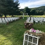 Outdoor Ceremony Space with Beautiful Views
