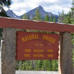 Natural Bridge Signage