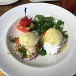 Smoked Salmon Egg Benedict Perfect....