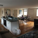 Taylor Suite Room 401 Absolutely Amazing with the old plank floors. Loaded with character.