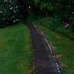 Walkway to bush bath