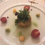 Lobster salad.