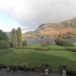 View from a balcony room overlooking Ullswater.