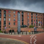Preserved Albert docks.. Holiday inn Liverpool