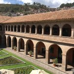 The central courtyard is open to the outside.