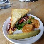 Beef Bacon Lettuce Tomato sandwich at Caplansky's Deli