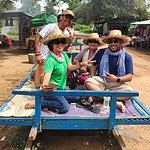 Bamboo Train In Battambang with Torch Tours