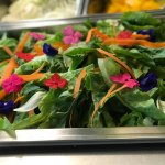 Flower-edibles add color, but now just a part of regular veggies.