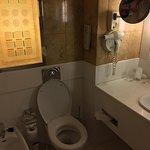 Large bathroom with bidet!