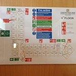 схема расположения номеров 4 этажа