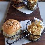 Generous portion burgers