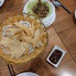 Chinese pancake, plain, nice savory filler