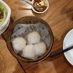 Steamed prawn dumplings