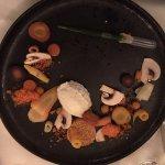 Mousse von Ziegenfrischkäse/ Quinoa / Rüebli